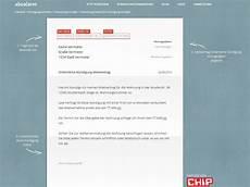 kündigung ohne mietvertrag mietk 252 ndigung muster vorlage kostenlos chip