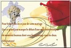 Carte Felicitation Mariage