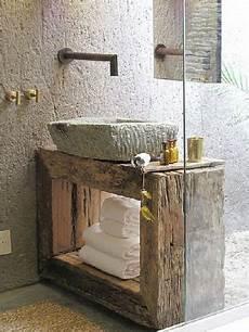 meuble vasque original