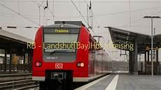Db Regio Bayern Ansagen Der Rb Landshut Bay Hbf