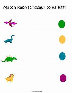 dinosaur worksheets for toddlers 15308 free dinosaur matching packet preschool powol packets