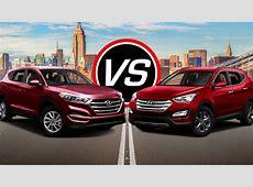 2016 Hyundai Tucson SE vs Santa Fe Sport Turbo   Spec