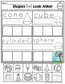 sorting 3d shapes worksheets 7889 october filled learning resources with images teaching shapes shapes kindergarten
