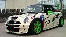mini cooper s r53 ttcc racing car with airrex digital air