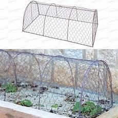 tunnel de protection en grillage 224 poule jardins
