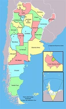de argentina mapa politico de argentina