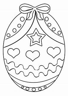 free easter egg 4 colouring page activity