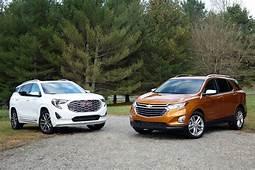 2018 Chevrolet Equinox Vs GMC Terrain Compare Cars