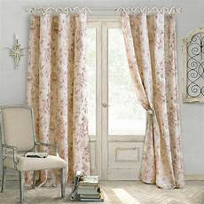 elrene annalise 52 in w 84 in l polyester single window curtain panel in dusty rose 21185dtr