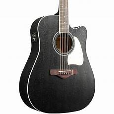 top acoustic guitars ibanez artwood aw360cewk solid top dreadnought acoustic electric guitar music123