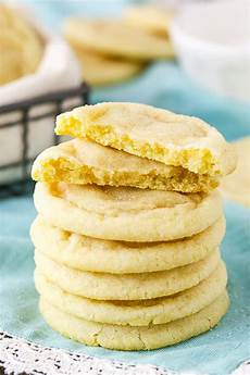 best soft chewy sugar cookie recipe easy no chill cookie recipe