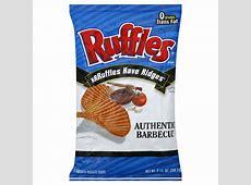 Ruffles Potato Chips, Authentic Barbecue Flavored, 9.5 oz