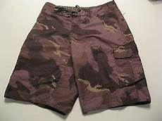 youth quiksilver board shorts 16 w28 reto camo tattoo surf skate sun usd 19 94 end date