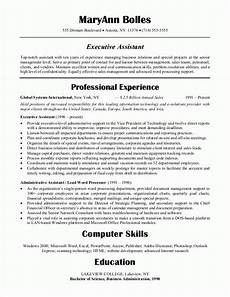 sle resumes administrative assistant resume or