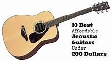 top acoustic guitars 10 best affordable acoustic guitars 200 dollars 2020 guitarhabits