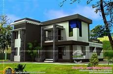 Modern Flat Roof House 2550 Square Kerala Home