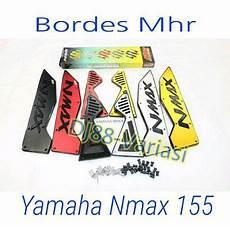 Lu Variasi Nmax by Bordes Mhr Yamaha Nmax 155 Cnc Karpet Injekan Kaki Step