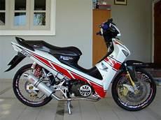 Modifikasi Supra X 125 Sederhana by Modifikasi Supra X 125 Fi Road Race Racing Thailook