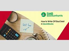 how to write off account in quickbooks
