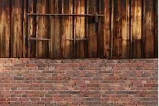 Mauer Aus Holz - jetzt bestellen 187 fototapete holz wand scheune mit ziegel