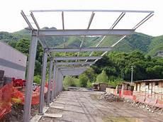 tettoie in ferro tettoie in metallo resistenti ed affidabili o t
