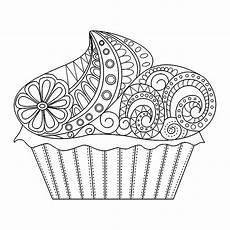 Malvorlagen Cake Cupcakes 20045 Cupcakes Malbuch Fur Erwachsene