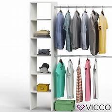 Vicco Kleiderschrank Offen Begehbar Regal Kleiderst 228 Nder