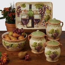 canisters kitchen decor decorative kitchen canisters ebay