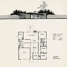 eichler house plans plans for 4 model eichler homes in concord simspiriation
