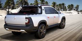 Renault Duster Oroch Crew Cab Ute Concept To Debut In Sao