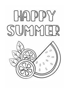 happy summer holidays coloring pages printable 17614 free printable summer cards create and print free printable summer cards at home