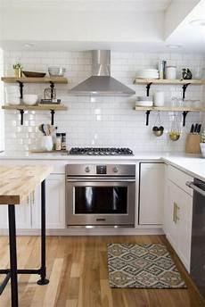 la cuisine blanche et bois en 102 photos inspirantes ma