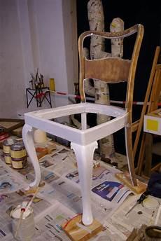 Alte Stehle Neu Gestalten - alter stuhl recyclingkunst und der versuch langsam und