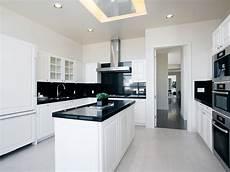 küchen schwarz weiss world of architecture black and white interior design