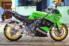 150 Rr Modif Simple by Gambar Modifikasi Motor Kawasaki 150 Rr Terbaru