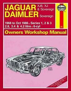 online car repair manuals free 2001 jaguar xj series windshield wipe control jaguar xj6 xj sovereign daimler sovereign 1968 1986 sagin workshop car manuals repair books