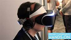 we just tried sony s ps4 reality headset we like