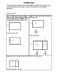 how to area for division 2 digit divisor 5th grade math fifth grade math math groups