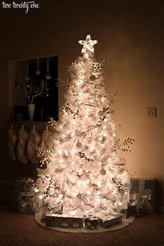 White Decorations For Tree by White Tree