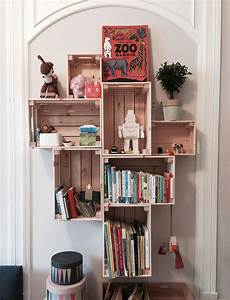 Bücherregal Kinderzimmer Selber Bauen - diy das perfekte regal im kinderzimmer