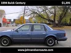 car manuals free online 1996 buick century electronic toll collection 1994 buick century problems online manuals and repair information