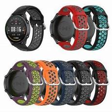 22mm Dual Color Silicone by 22mm Silicone Cuff Dual Color Band For Xiaomi Color