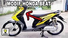 Modifikasi Honda Beat by 10 Modifikasi Motor Honda Beat Murah Dan Keren