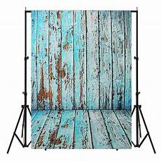 3x5ft 5x7ft Vinyl Wood Wall by Backdrops 5x7ft Vinyl Blue Wood Wall Floor Photography