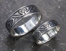 dragon wedding ring silver celtic wedding bands unique