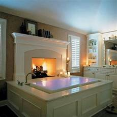 Relaxing Overflow Bathtub By Glass