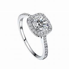 elegant square diamond wedding ring fashion jewelry for 5 yard ts ebay