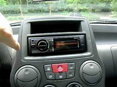 autoradio fiat panda fiat panda 1 2 dynamic mit kdc bt60u radio
