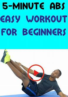 5 minute abs easy workout for beginners in 2020 workout