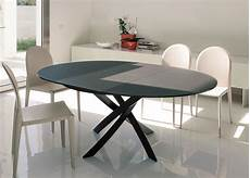 runde esstische ausziehbar bontempi barone extending dining table go modern